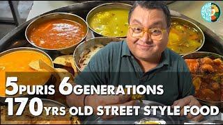 5 Puris. 6 Generations. 170 Year Old Street Style Eatery in Mumbai I Kunal Vijayakar