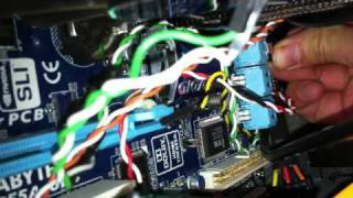 Connecting the HDD Cables