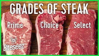 Beef Grades Explained - Select vs Choice vs Prime Steaks