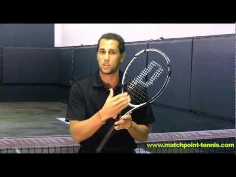 Prince 2012 EXO3 Warrior Racquetas Vista General Para Match Point Tennis