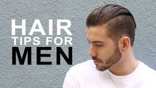 HEALTHY HAIR TIPS FOR MEN | MEN