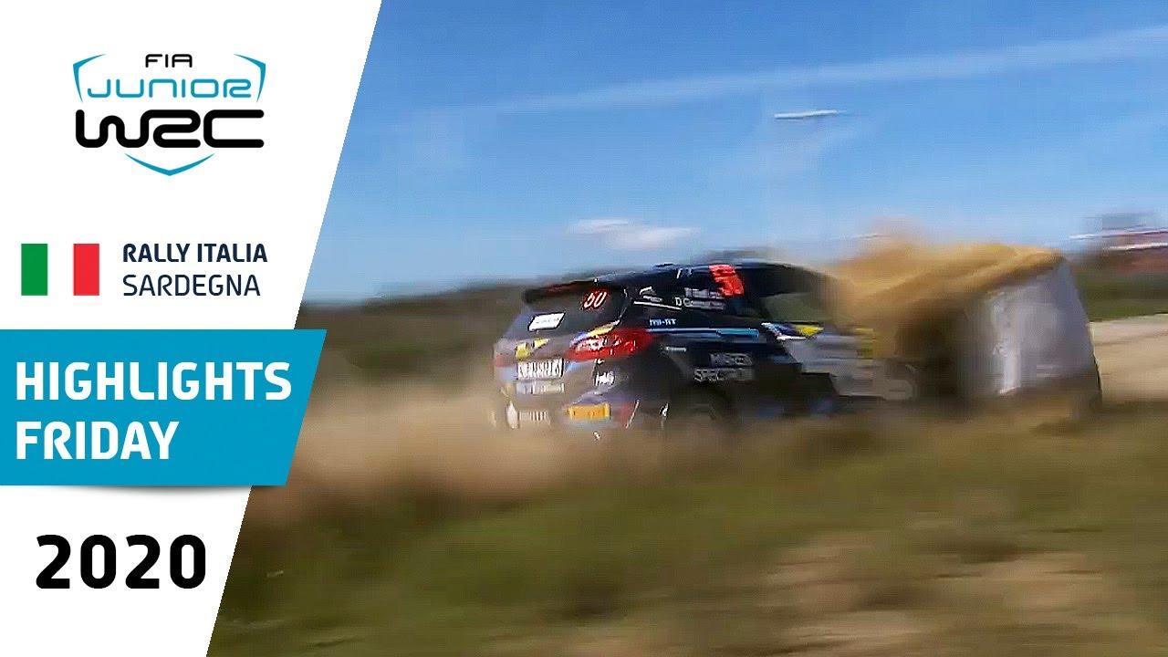 Junior WRC - Rally Italia Sardegna 2020: Friday Highlights