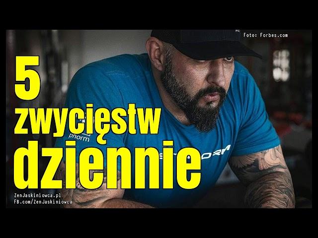 Jak wyrobić nawyk wygrywania? - Rafal Mazur ZenJaskiniowca.pl