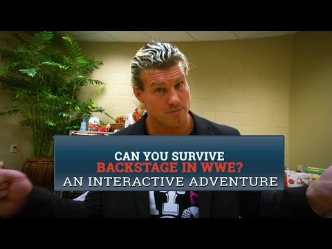 Can you survive backstage in WWE?: An interactive WWE adventure