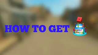 [PROMOCODE] how To Get The Roblox Cake | Roblox