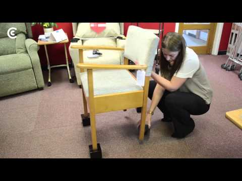 Kaboost Portable Chair Booster Ottoman Demo | Doovi