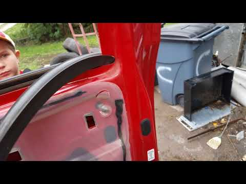 Dodge rear door window replacement. DIY