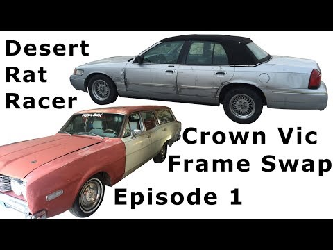 Ep.1 Crown Vic Frame Swap with 68 Mercury Montego Station Wagon Introduction Project Redneck