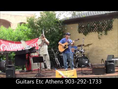 "June Jam at Guitars Etc in Athens, TX ""Highway 40 Blues"" Cover 903-292-1733"