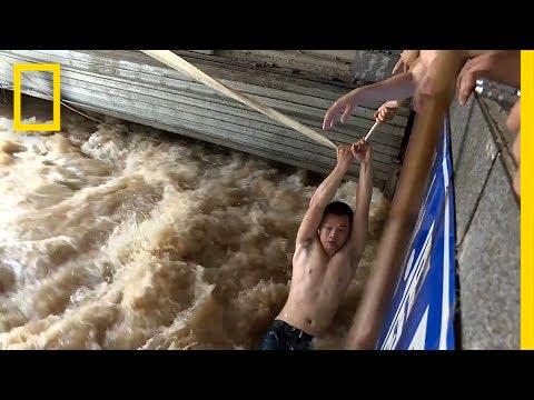 Thumbnail: China's Extreme Flooding: See Dramatic Scenes of Rescue and Ruin | National Geographic