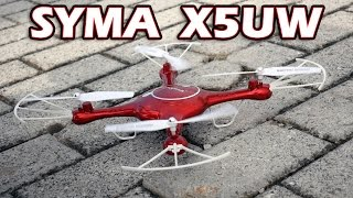 SYMA X5UW Quadcopter - Unboxing & Test - Greek (Gearbest)