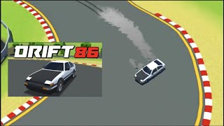 NEW Initial D Top Down Addicting Drifting Game w/EUROBEAT! ( DRIFT86 Early Access)
