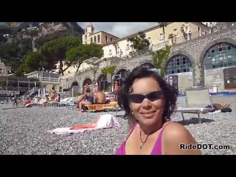 Riding the Amalfi Coast