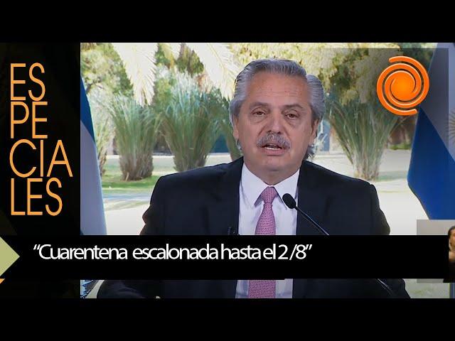 """Alberto Fernández y la cuarentena: """"Todos, todas y todes hemos hecho un gran logro"""" - eldoce"""