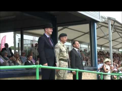 Chief of the General Staff taking the Final Salute Royal Norfolk Show