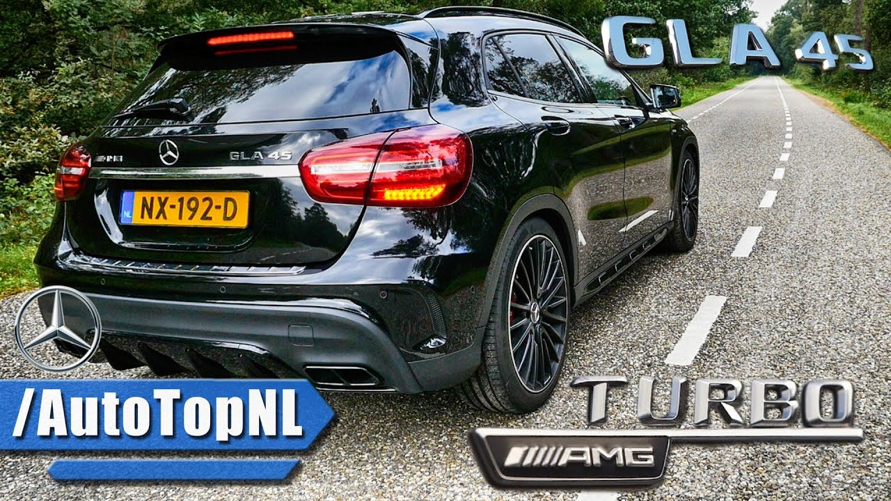 2018 Mercedes Amg Gla 45 Looks Drive Sound By Autotopnl