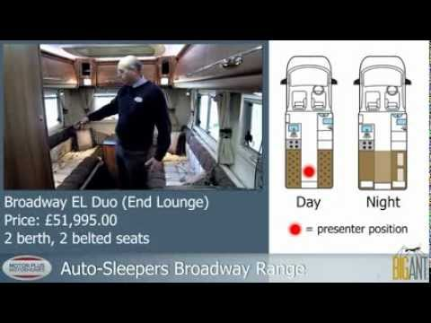 Auto-Sleepers Broadway EL Duo. Tim from 3 Men in a Motorhome gives a guided tour of this motorhome