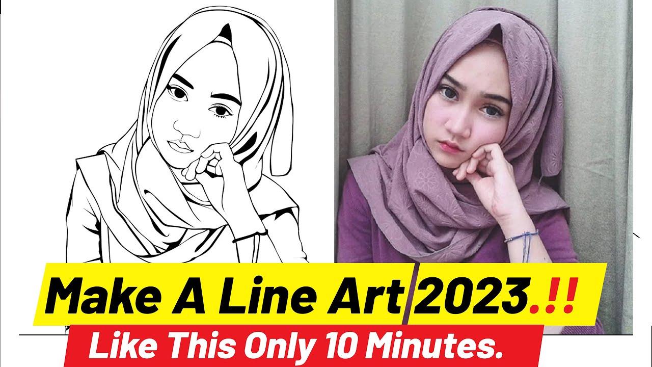 Download Cara bembuat Line art di photosop