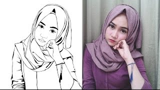 Cara bembuat Line art di photosop
