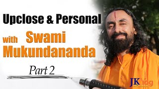 Up Close & Personal with Swami Mukundananda | Personal Story Of Yogi | Exclusive Interview | Part 2