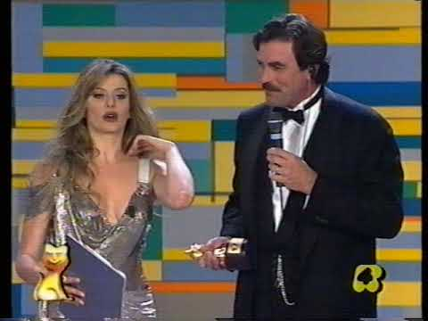 Tom Selleck Award Ceremony & Alba Parietti Magnum Pi