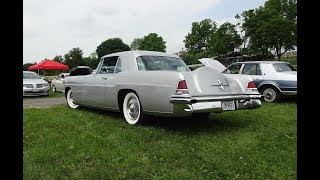 1956 Continental Mark II in Gray & Engine Sound on My Car Story with Lou Costabile
