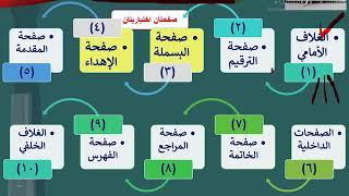 دورة كيف تؤلف كتاباً - الدرس الخامس