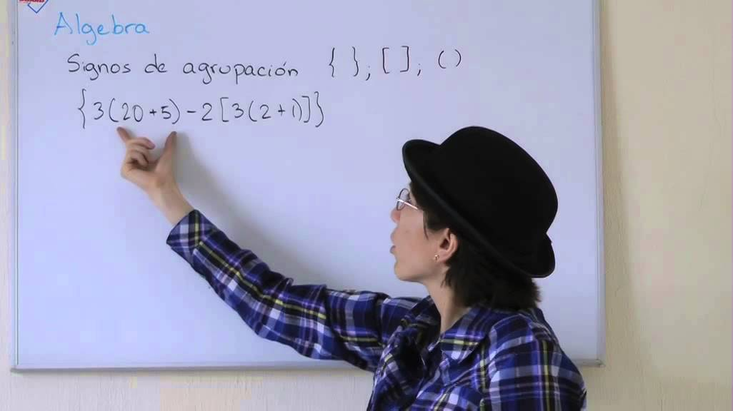Signos de agrupación matemática