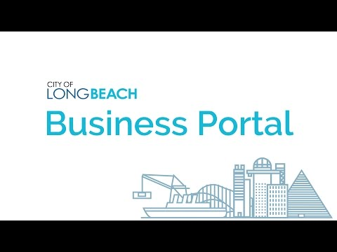 City of Long Beach Business Portal Overview