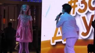 """Концерт """" За день до успеха """" Аришка Данилова и Саша Савинов"""