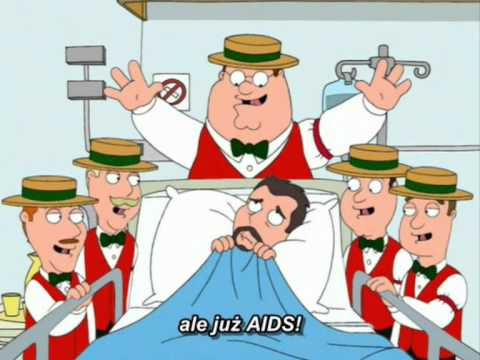 """Family Guy - """"You've got the AIDS"""""""