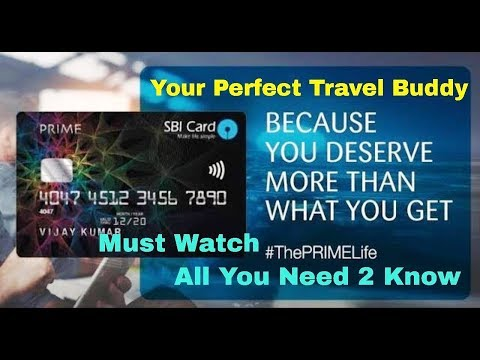 SBI Prime Credit Card Fully Explained (HINDI) | A Perfect Travel Card
