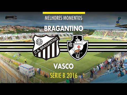 Melhores Momentos - Bragantino 1 x 2 Vasco - Série B - 12/11/2016