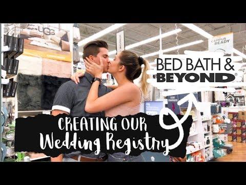 Creating Our Wedding Registry // Registry Vlog