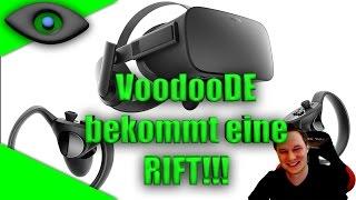 WAHNSINN! VoodooDE bekommt eine Oculus Rift + Touch Controller !!! 😱 [German][Virtual Reality]