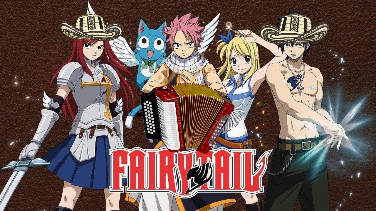 Fairy Tail Opening 1 - Snow Fairy - Vallenato Version