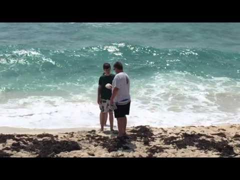 Cozumel eastern shore beach