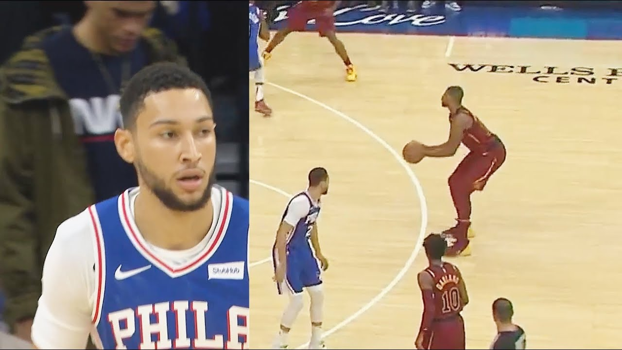 Ben Simmons Is Jealous Tristan Thompson Can Hit 3 Point Shots And He Can't! Cavaliers vs Sixers