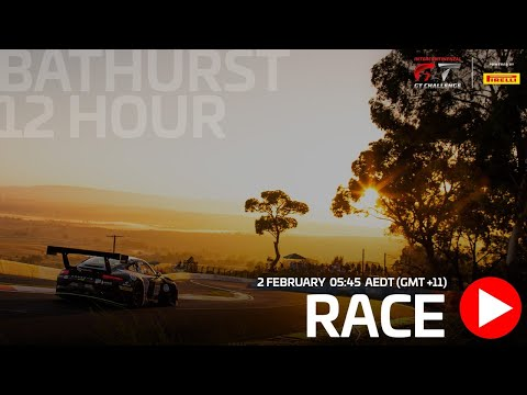 WATCH AGAIN - BATHURST 12 HOURS - FULL MAIN RACE LIVE