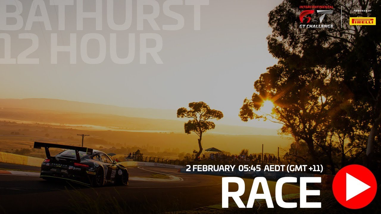 Watch Again Bathurst 12 Hours Full Main Race Live Youtube