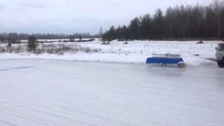 Зимний картинг 3 этап 2-ой заезд класс Свободный