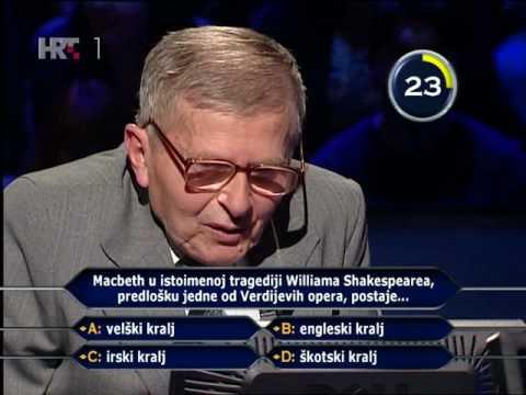 Milijunaš: joker Josip Matković [smiješno do suza]