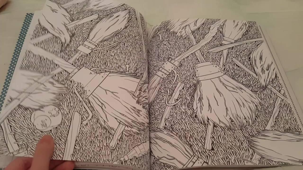 Harry Potter Artefacts Magiques Livre De Coloriage Tome 4