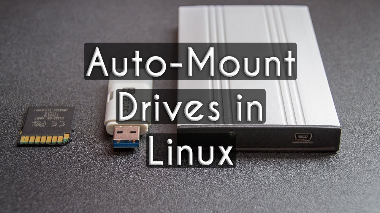 How to Mount a Hard Drive in Linux on Startup