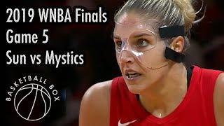 [WNBA Finals Game5] Connecticut Sun vs Washington Mystics, Full Game Highlights, October 10, 2019