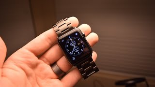 apple watch 3rd part band ivapo stainless steel