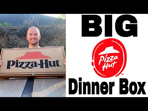 PIZZA HUT BIG DINNER BOX CHALLENGE | Family Dinner Feast | Eating Over 5,000 Calories
