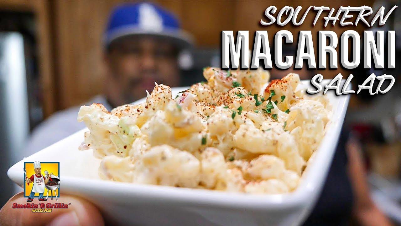 Southern Style Macaroni Salad - YouTube