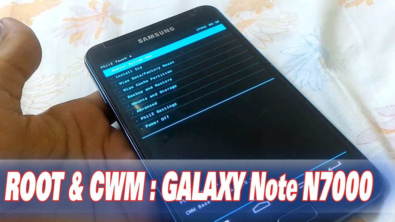How to Root & Install Clockword Mod Recovery in Samsung Galaxy Note 1 N7000