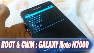 How to Root & Install Clockword Mod Recovery in Samsung Galaxy Note-1 N7000